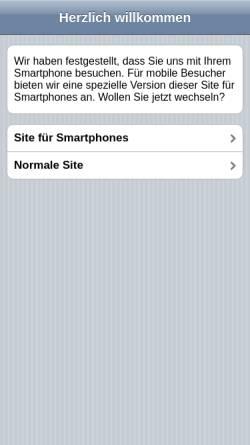 Vorschau der mobilen Webseite www.elbland-assekuranzmakler.de, Maklerbüro Frank Gude