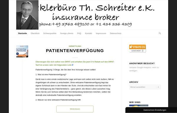 Vorschau von www.4321start.com, Maklerbüro Th. Schreiter