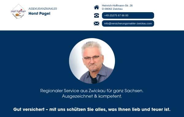 Vorschau von www.versicherungsmakler-zwickau.com, Pagel & Kollegen, Inh. Horst Pagel