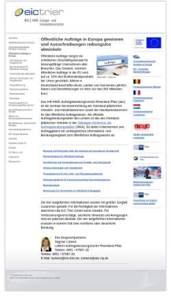 Vorschau der mobilen Webseite www.abc-rlp.de, Auftragsberatungscentre Rheinland-Pfalz