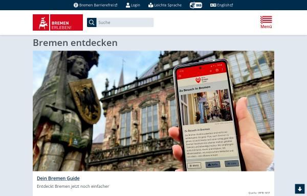 Vorschau von www.bremen.de, Bremen.online - die Bremer Stadtinformanten