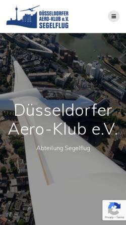 Vorschau der mobilen Webseite wolfsaap.de, Aero-Klub