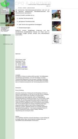 Vorschau der mobilen Webseite www.cpq.it, CPQ & Partner GmbH