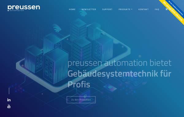 Vorschau von www.preussen-automation.eu, Preussen automation GmbH