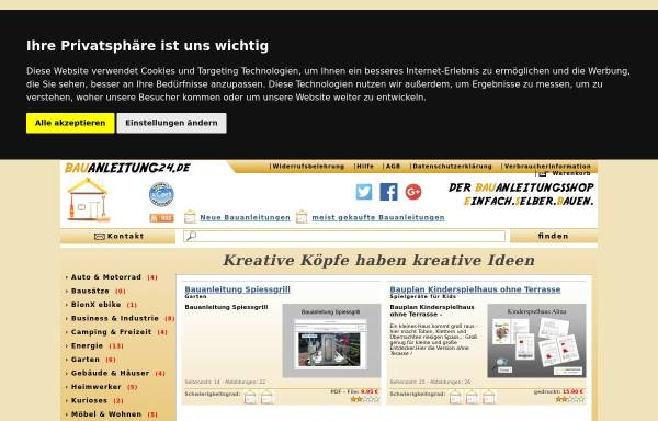 Vorschau von www.bauanleitung24.de, Bauanleitung24.de