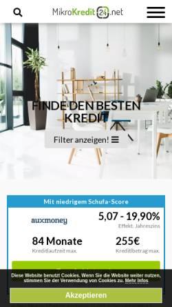 Vorschau der mobilen Webseite www.arbeitslosengeld-2.de, Die Hartz IV Blogger