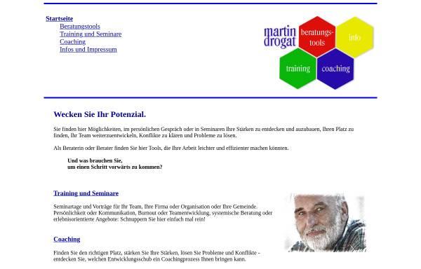 Vorschau von www.martindrogat.de, Martin Drogat