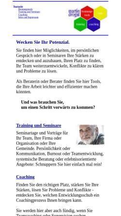 Vorschau der mobilen Webseite www.martindrogat.de, Martin Drogat