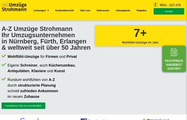 Vorschau von www.strohmann.com, Umzug.de