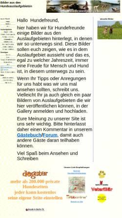 Vorschau der mobilen Webseite www.hundeauslaufgebiet.de, Hundeauslaufgebiet