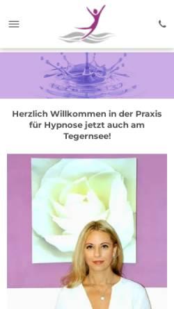 Vorschau der mobilen Webseite www.hypnosepraxis-rathmann.de, Ulrike Rathmann