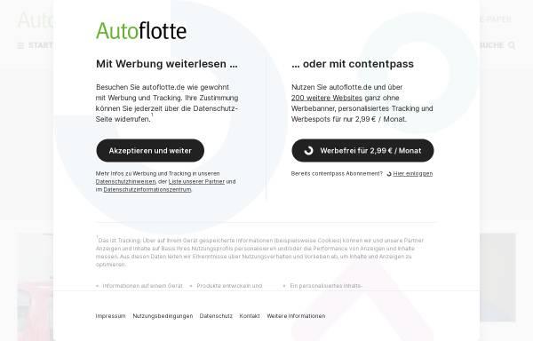 Vorschau von www.autoflotte.de, Autoflotte online
