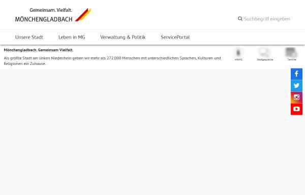 Vorschau von www.moenchengladbach.de, Stadt Mönchengladbach