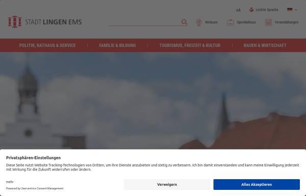Vorschau von www.lingen.de, Stadt Lingen (Ems)