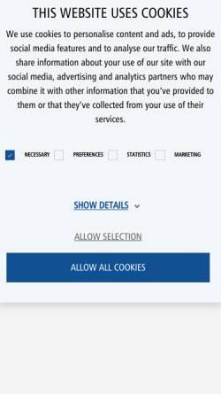 Vorschau der mobilen Webseite www.kleusberg.de, Kleusberg GmbH & Co. KG