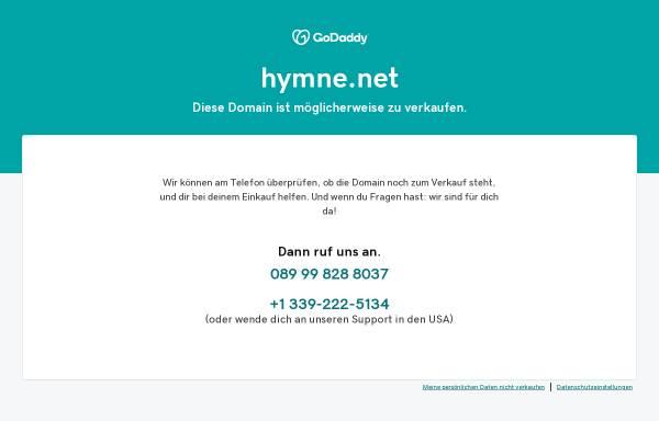 Vorschau von www.hymne.net, Thomas Jost's Hymnen und Flaggen Seiten