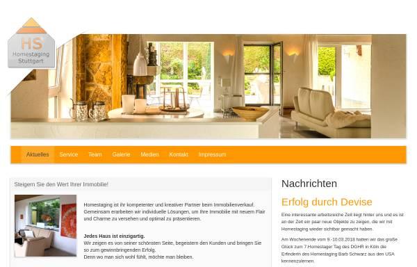 Vorschau von www.homestaging-stuttgart.com, Braun, Volker; Mitschke, Ulrike; Exner, Simon