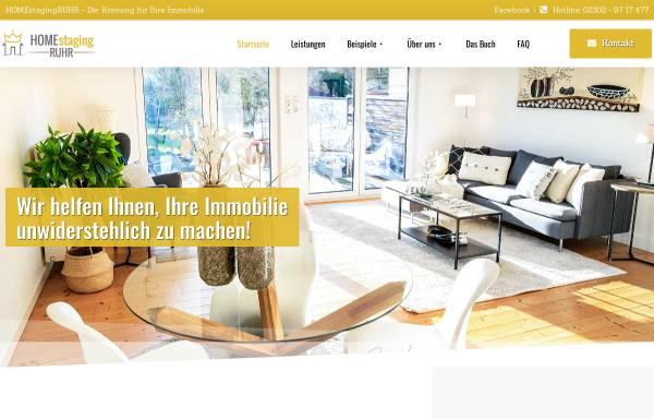 Vorschau von www.homestaging-ruhr.de, Knoop, Wiebke