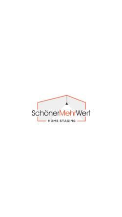 Vorschau der mobilen Webseite www.homestagingplus.de, Sauter, Alexandra