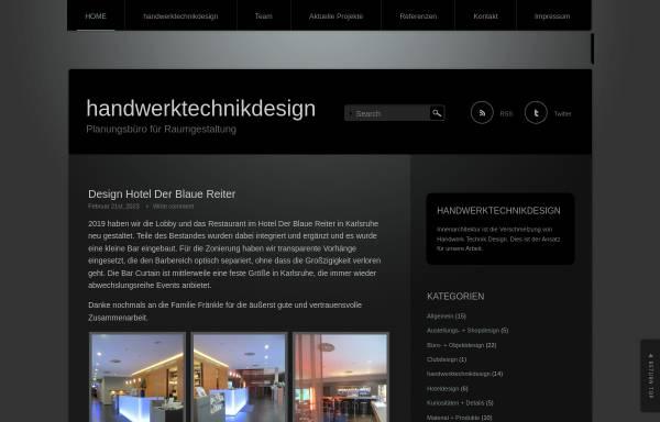 Vorschau von www.handwerktechnikdesign.de, Meyer, Thorsten P.