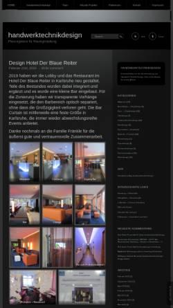Vorschau der mobilen Webseite www.handwerktechnikdesign.de, Meyer, Thorsten P.