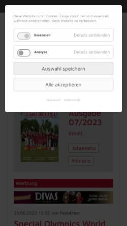 Vorschau der mobilen Webseite www.reiten-zucht.de, Reiten und Zucht