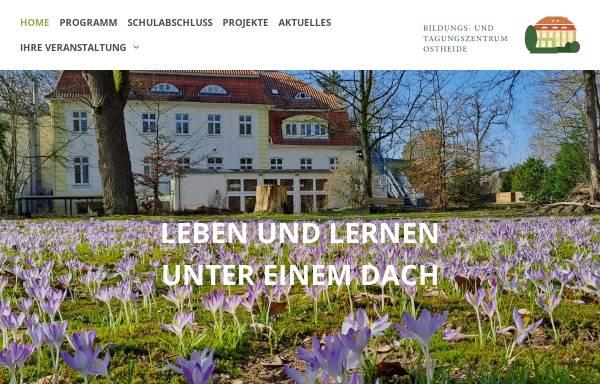 Vorschau von www.bto-barendorf.de, Bildungs- und Tagungszentrums Ostheide