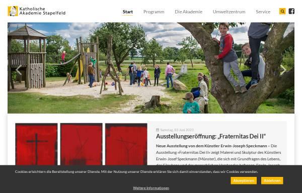 Vorschau von www.ka-stapelfeld.de, Katholische Akademie Stapelfeld