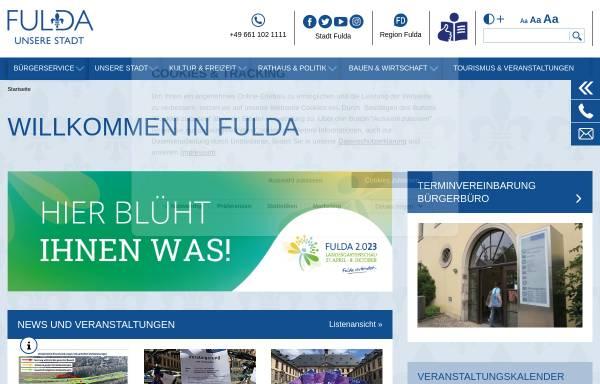 Vorschau von www.fulda.de, Fulda