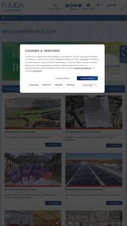 Vorschau der mobilen Webseite www.fulda.de, Fulda