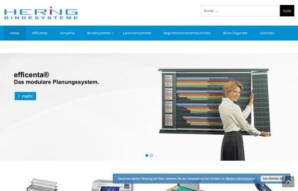 Vorschau von www.hering-orga.de, Hering Organisationsmittel Gronig
