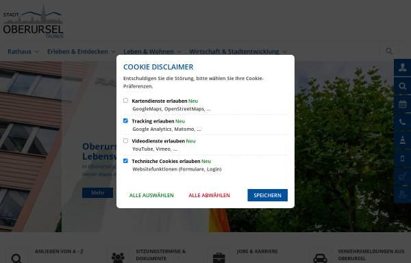Vorschau von www.oberursel.de, Stadt Oberursel (Taunus)