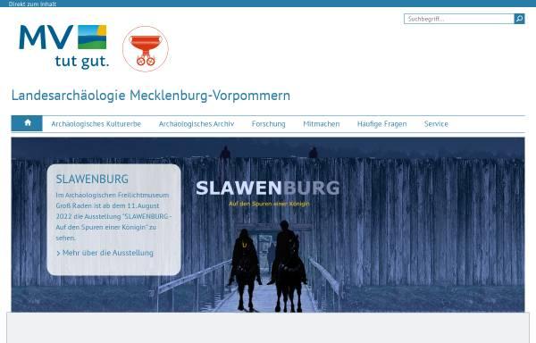 Vorschau von www.archaeologie-mv.de, Archäologisches Landesmuseum M-V