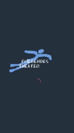 Vorschau der mobilen Webseite www.fliegendes-theater.de, Fliegendes Theater e. V.