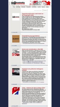 Vorschau der mobilen Webseite www.gegeninformationsbuero.de, Gegeninformationsbüro