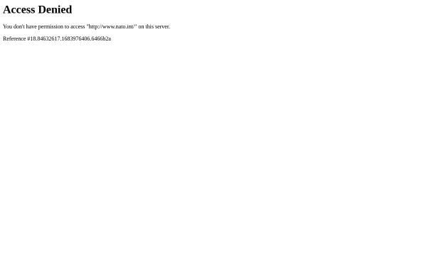 Vorschau von www.nato.int, NATO