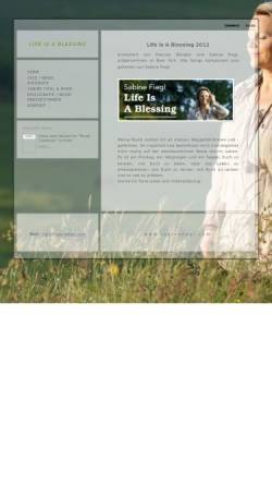 Vorschau der mobilen Webseite www.sabinefiegl.com, Fiegl, Sabine