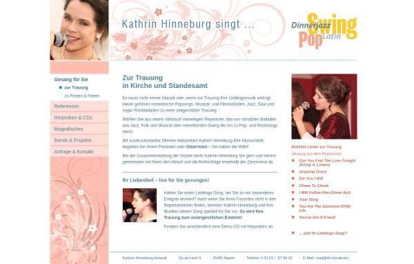 Vorschau von www.kh-vocals.biz, Hinneburg, Kathrin