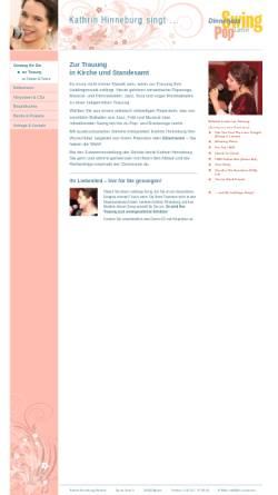 Vorschau der mobilen Webseite www.kh-vocals.biz, Hinneburg, Kathrin