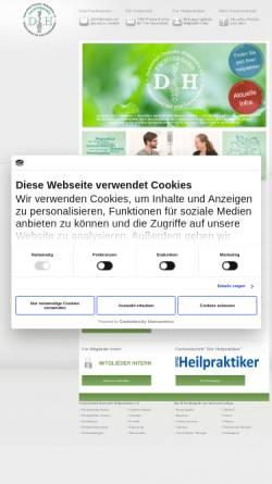 Vorschau der mobilen Webseite www.heilpraktiker.org, Fachverband Deutscher Heilpraktiker e.V.