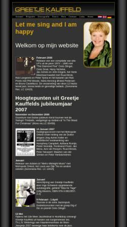 Vorschau der mobilen Webseite www.greetjekauffeld.nl, Kauffeld, Greetje