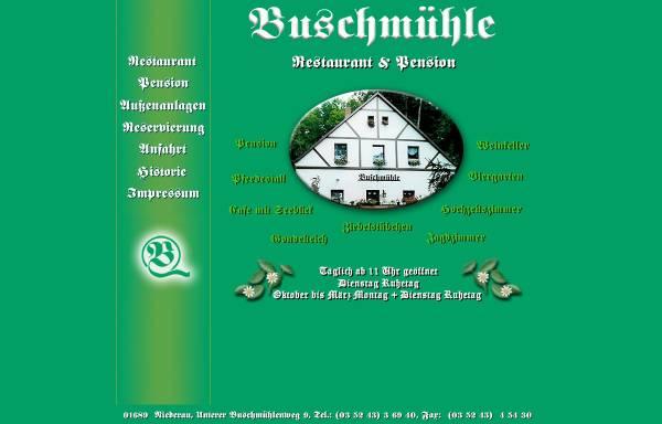 Vorschau von www.buschmuehle-sachsen.de, Buschmühle