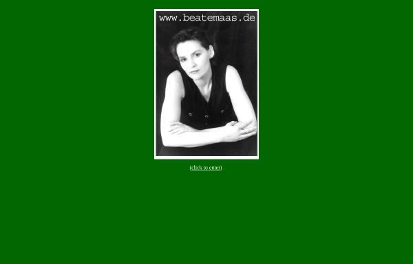 Vorschau von www.beatemaas.de, Maas, Beate