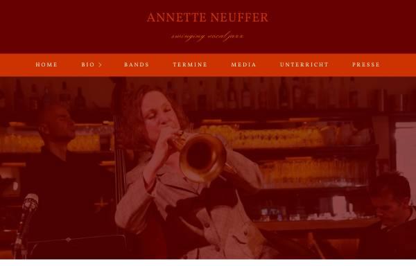 Vorschau von www.annetteneuffer.de, Neuffer, Annette