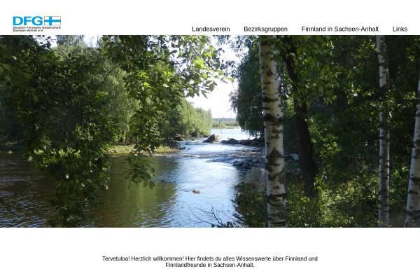 Vorschau von www.dfg-sachsen-anhalt.de, Deutsch-Finnische Gesellschaft Sachsen-Anhalt e. V.