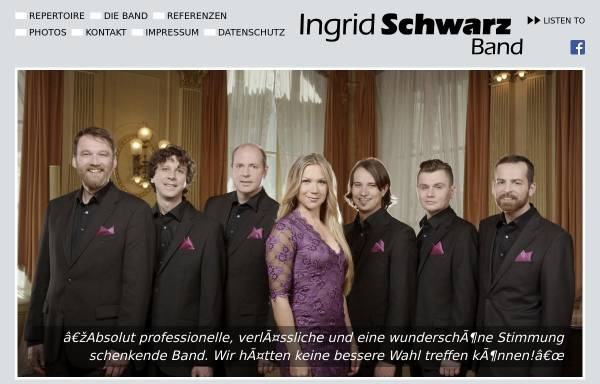 Vorschau von www.ingrid-schwarz-band.de, Schwarz, Ingrid
