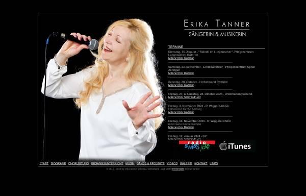 Vorschau von www.erikatanner.ch, Tanner, Erika