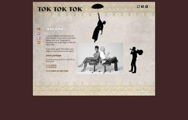 Vorschau von www.toktoktok.net, tok tok tok