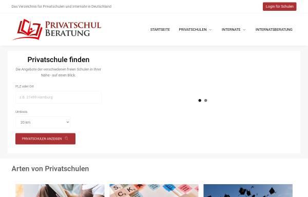 Vorschau von www.privatschulberatung.de, Deutsche Schul- und Bildungsberatung
