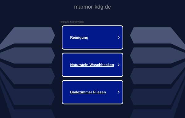 Vorschau von www.marmor-kdg.de, Martin Morgalla-Reva